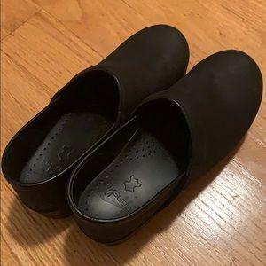Dansko Shoes - Dansko Professional Black Oiled Clog